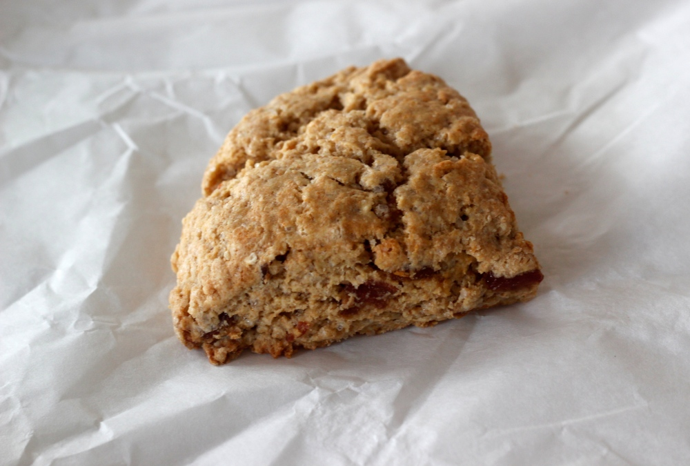 Einkorn and Date Scones